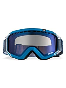 Quiksilver Men's Q1 Mirror Goggle - Blue, One Size (Old Version)