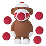 Hog Wild Sock Monkey Popper Foam Battle Toy