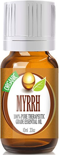 Myrrh (Organic) 100% Pure, Best Therapeutic Grade Essential Oil - 10Ml