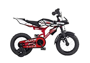 Boys Bikes 14 Inch Flite Moto GP Boys Play Bike