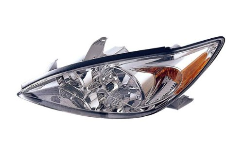 toyota camry le xle replacement headlight assembly chrome 1 pair too. Black Bedroom Furniture Sets. Home Design Ideas