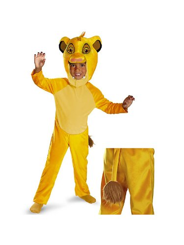 Disguise Disney Lion King Simba Deluxe Boys Costume