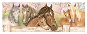Melissa & Doug Horse Corral Floor Puzzle (48 Pieces)