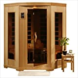 Santa Fe 3 Person Carbon Infrared Home Sauna