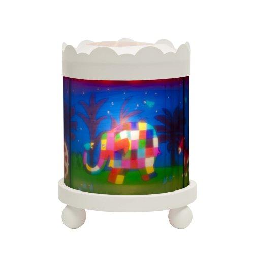 trousselier-manege-lanterne-magique-elmer-blanc-12v