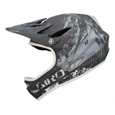 "Giro Remedy Full Face Downhill Helmet Matte Titanium Large (23.25""-24.75"" / 59-63 cm)"