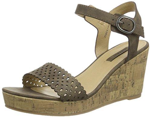ESPRITGessie Sandal - Sandali Donna , Marrone (Braun (210 brown)), 38 EU