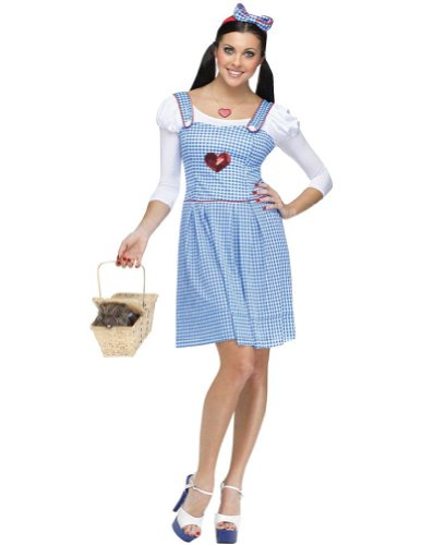 Dorothy Adult Costume 10-14 Adult Womens Costume