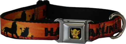 How to buy online Buckle Down Dog Collar Simba Lion King Hakuna ...