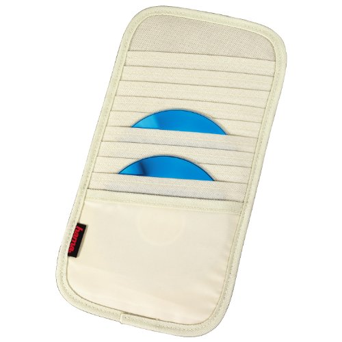 Hama Automotive Sonnenblendentasche 10 CD beige