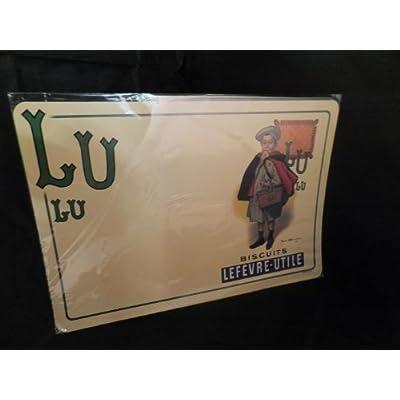 フレンチレトロ テーブルマット(ランチョンマット) LUビスケット少年