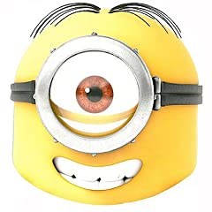 Mask-Arade Mens Despicable Me Minion Mask - Stuart