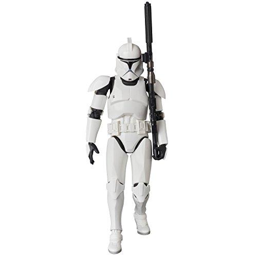 MAFEX マフェックス CLONE TROOPER『Star Wars: Episode II』ノンスケール ABS&ATBC-PVC塗装済みアクションフィギュア