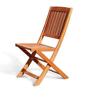 Glaser Furniture : Amazon Vifah V Outdoor Wood Folding Chair Set Of