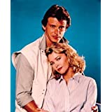 FAYE GRANT AS DR. JULIE PARRISH, MARC SINGER AS MIKE DONOVAN FROM V #5 - COLOUR Movie Photo - (4 Different Photograph & POSTER Sizes Available)