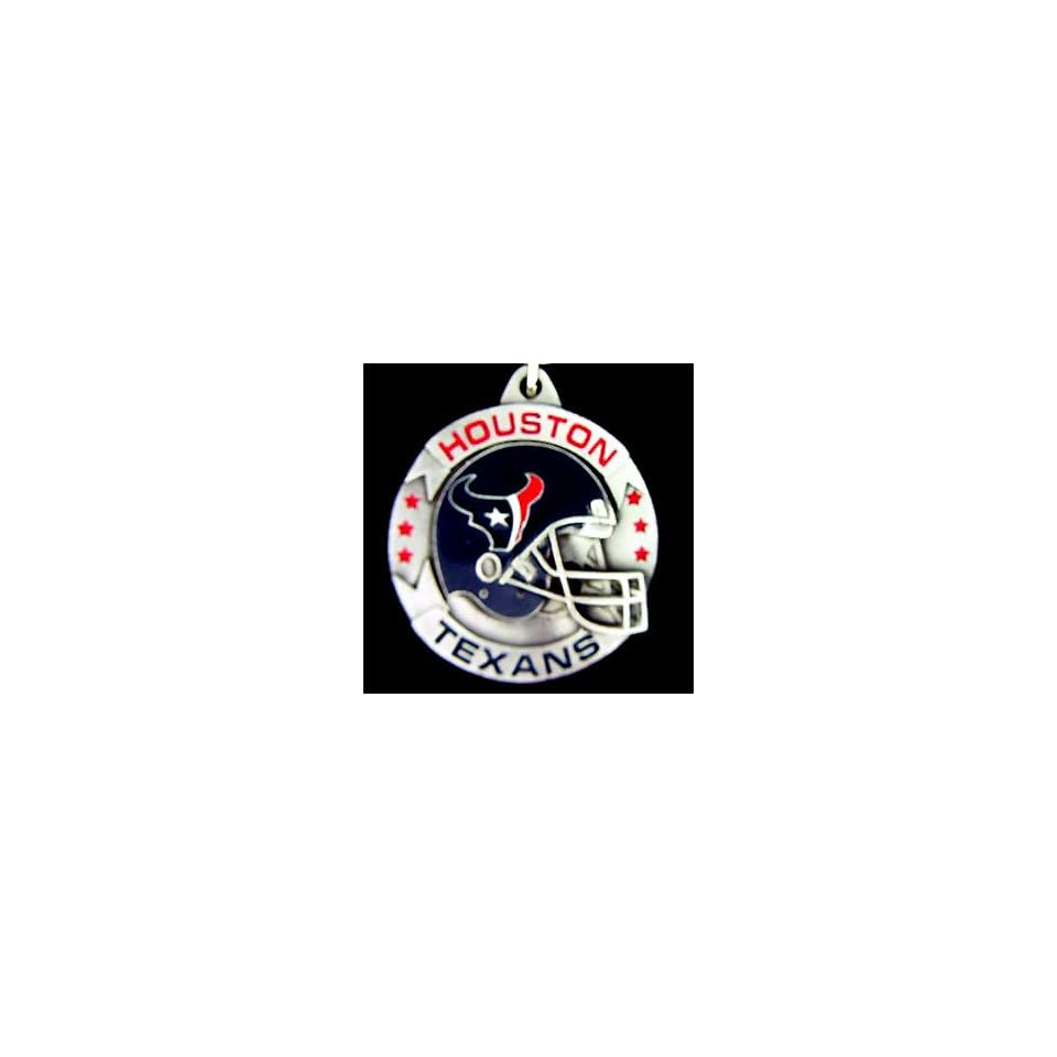Houston Texans NFL Pewter Helmet Key Ring