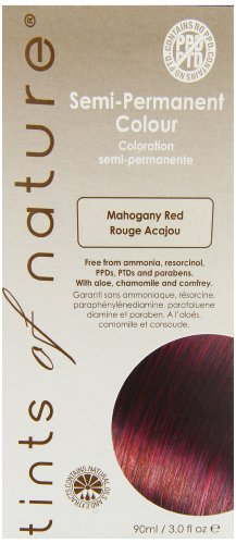 Semi-Permanent Hair Colour- 5MHR Mahogany Red 3 Ounces (Red Mahogany Dye compare prices)
