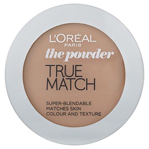 L'Oréal Paris True Match, Cipria W6, Honey, 9 g
