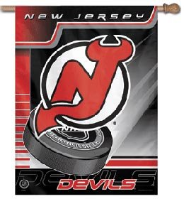 "New Jersey Devils NHL 27""x 37"" Banner"