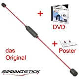 orig. Swingstick Fitness-Schwungstab + Swing Stick DVD