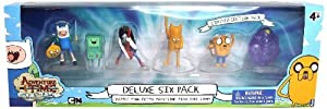 """Adventure Time 2"""" Action Figure, 6 Pack (Style may vary)"""