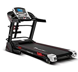 Powermax Fitness TDM-125S Multifunction Motorized Treadmill 2.0 HP Continuous 3 Years Warranty