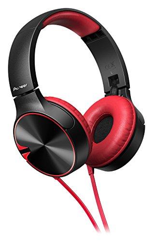 Pioneer-SE-MJ722T-R-bassstarker-stylischer-On-Ear-Kopfhrer-optimiert-fr-AndroidApple-Smartphone-rot