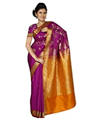 Paaneri Fine Cotton Silk Fuchsia Color Saree With Rich Pallu-14103014603