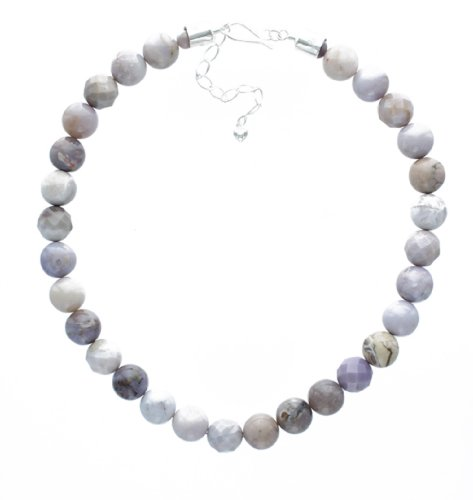 Purple Agate Necklace By Jay King