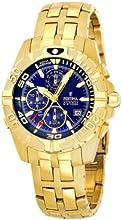 Comprar FESTINA F16119/2 - Reloj de caballero de cuarzo, correa de acero inoxidable color oro (con alarma)
