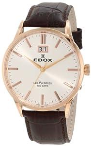 Edox Les Vauberts Mens Watch 63001 37R AIR