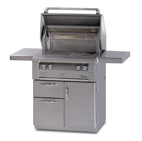 Alfresco Alx2-30Szcd-Lp Searzone Grill With Deluxe Cart, 30-Inch