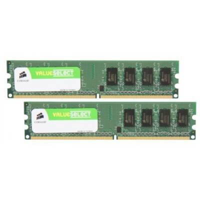 CORSAIR VS2GBKIT667D2 2GB (2 x 1GB) 240-PIN DDR2 667Mhz (PC2 5300) SDRAM Desktop Memory Model