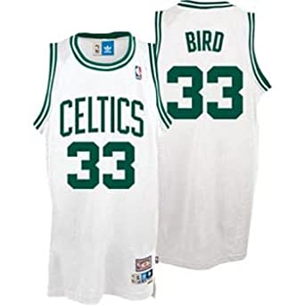 Larry Bird Boston Celtics Adidas White Swingman Jersey by adidas