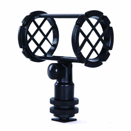 Movo Smm1 Camera Shoe Shockmount For Shotgun Microphones 19-25Mm In Diameter (Including Rode Ntg-1, Ntg-2, Sennheiser Mke-600)