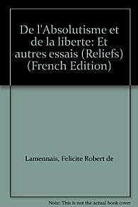 La Liberté (Essais) (French Edition)