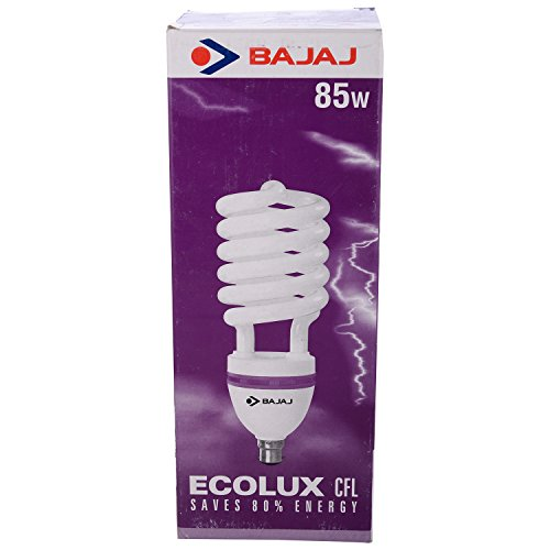 Bajaj Ecolux 85 Watt CFL Bulb (White) Image