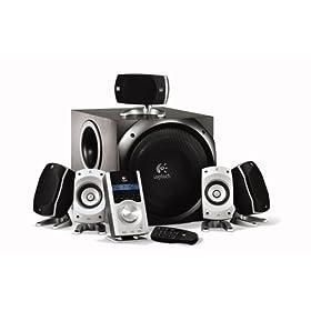 Dell - Logitech Z-5500 Home Theater Speaker System - $249.99