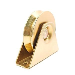 """ALEKO® 3 1/2"""" V-Groove Wheel for Sliding Gate Track"""
