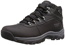 Hi-Tec Men\'s Altitude Base Camp WP Chukka Boot, Black, 8 M US