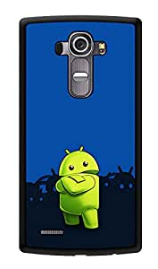 """Humor Gang Android Cartoon Printed Designer Mobile Back Cover For """"LG G4"""" (3D, Glossy, Premium Quality Snap On Case)"""