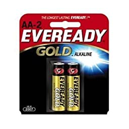 Energizer AA-2 Eveready AA Alkaline Battery