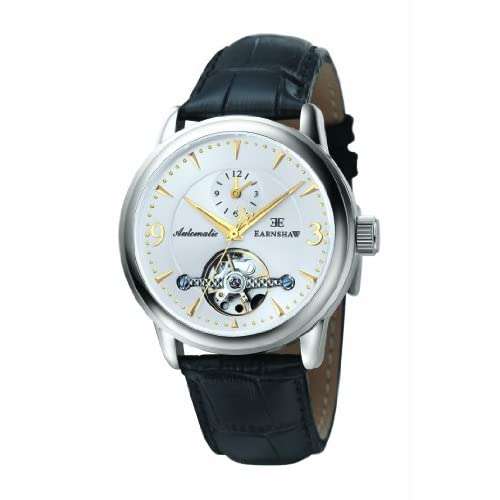 Discover 10 Mens Automatic Watch With Black Dial Analogue Display And Black Leather Strap