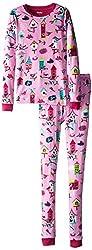 Hatley Little Girls' Birds Pajama Set