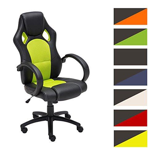 CLP-Sportsitz-Brostuhl-FIRE-hhenverstellbarer-Schreibtischstuhl-Sitzhhe-49-59-cm-bis-zu-7-Farben-whlbar-grn