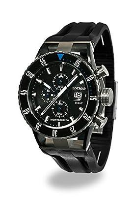 Locman Montecristo Professional Divers' PVD Chronograph