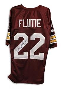 Doug Flutie Boston College Eagles Autographed Maroon Throwback Jersey Inscribed... by Sports+Memorabilia
