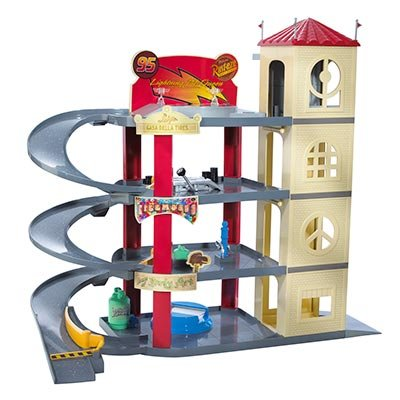 Toy Garages Disney Pixar Cars Ultimate Piston Cup Garage Electronic