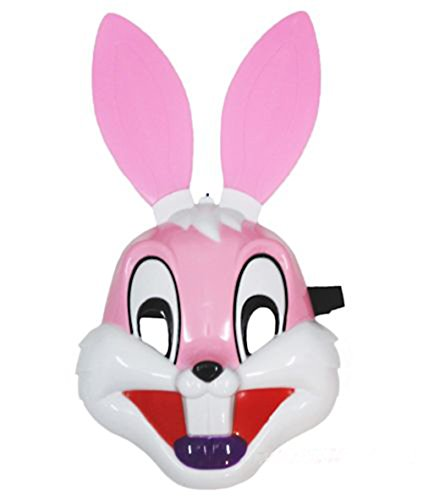 Bunny Rabbit Pulp Mask Party Costume