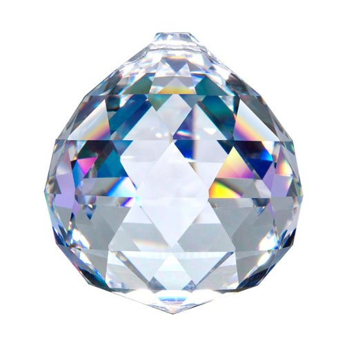 Swarovski Spectra Lead Free Feng Shui Crystal Ball, Very High Quality Crystal 50mm – 2 Inches Made in Austria with Certificate